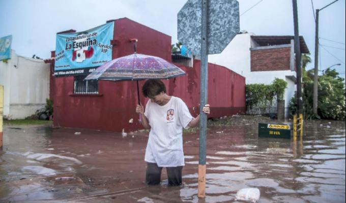 México: inundaciones en Sinaloa deja cuatro muertos