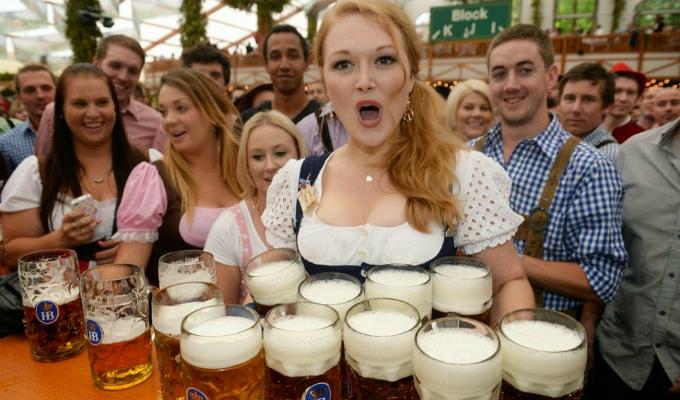"""Alemania: empezó el """"Oktoberfest"""", la fiesta de la cerveza"""