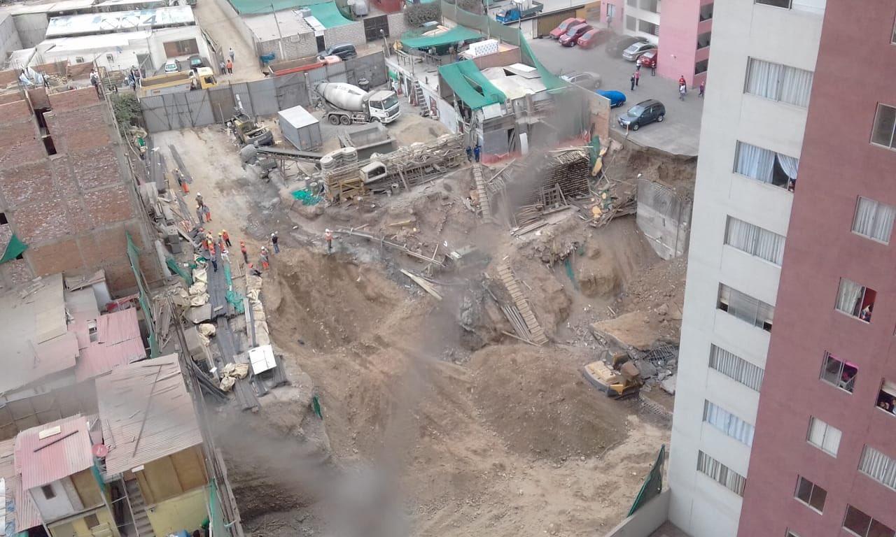 Derrumbe de condominio en Surco: Ministro de Vivienda anunció que se regulará excavaciones