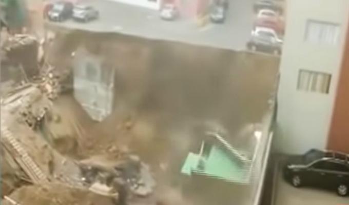 Surco: vecinos de condominio sindican a inmobiliaria como causante de derrumbe