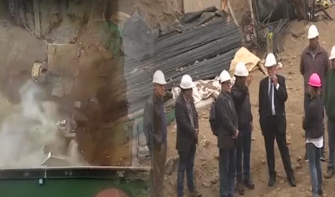 Surco: vecinos viven a sobresaltos por constantes derrumbes en construcción