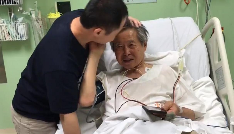 Alberto Fujimori es trasladado a la clínica Centenario