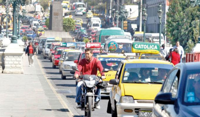 Arequipa: Caos vehicular entre principales problemas a resolver