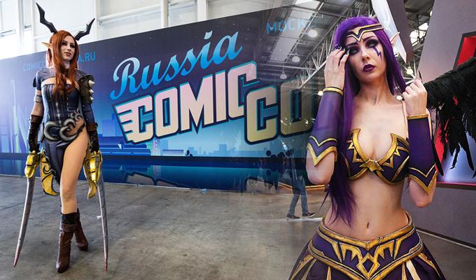 "Rusia: se inició el esperado ""Comic-Con 2018"" de Moscú"