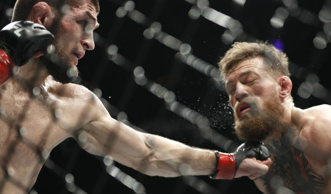 Nurmagomedov podría quedarse sin título tras intentar agredir a entrenador de McGregor
