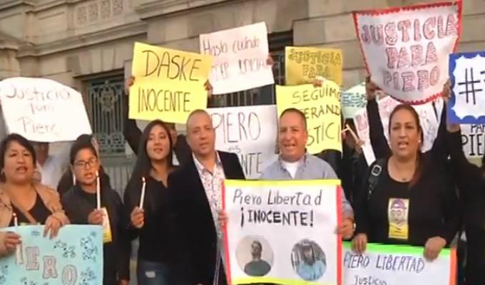 Defensa de Piero Gaitán exige cese de prisión preventiva