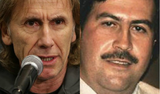 Ricardo Gareca habría estado en la mira del colombiano Pablo Escobar