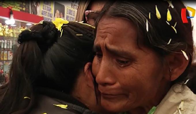 Buscó a su madre durante 22 años y este fue su emotivo reencuentro en Lima