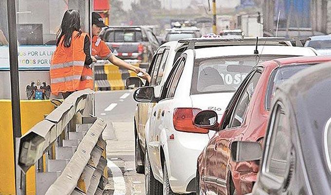 Rutas de Lima: peaje en Panamericana Sur y Norte aumentó en S/5.50