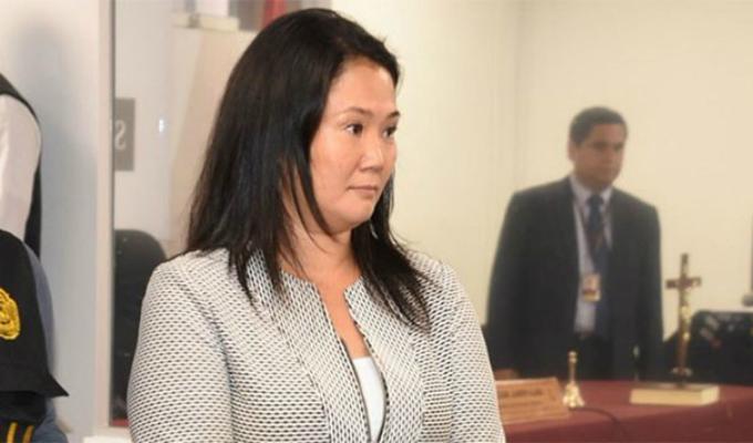 PJ evaluará apelación de Keiko Fujimori este miércoles
