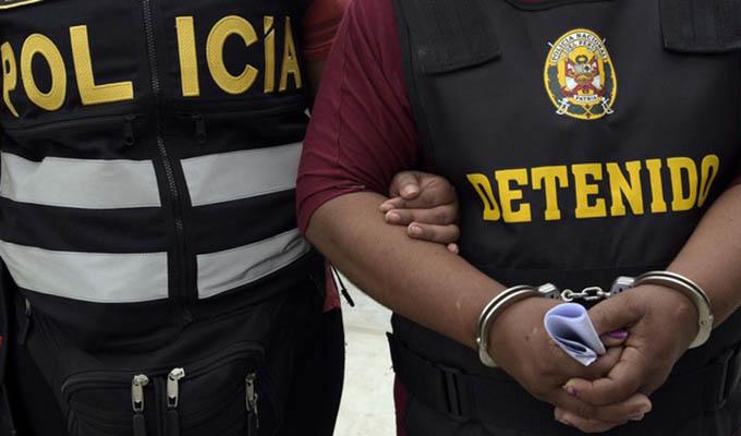 Incautan 30 inmuebles y detienen a miembros de presunta red de narcotráfico