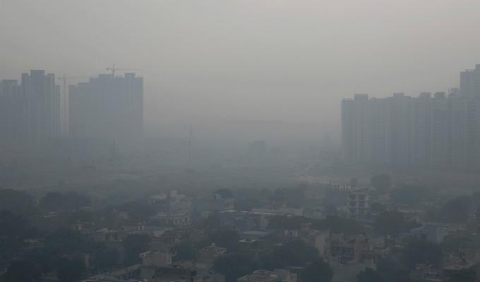 Nueva Delhi: aire de la capital india alcanzó nivel severo