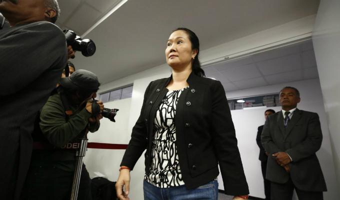 """Keiko Fujimori: """"Que me quieran dejar sin defensa legal es realmente cruel y perverso"""""""