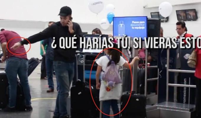 México: experimento mide reacción de personas ante intento de secuestro a un niño