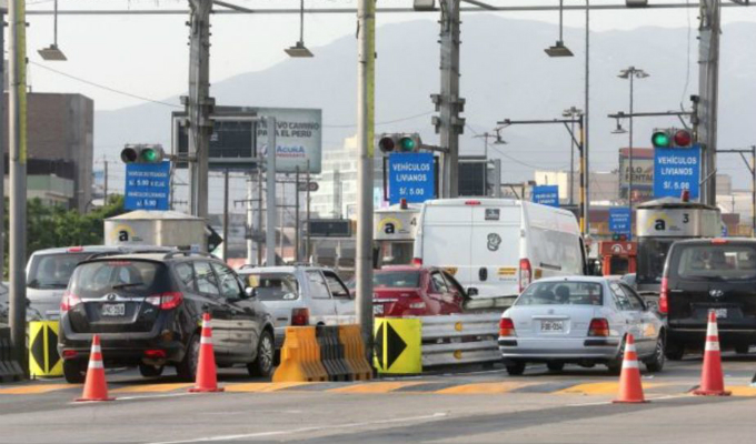 Rutas de Lima: peajes en Panamericana Sur y Norte se elevarán a S/5.50
