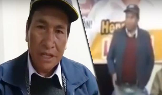 """Apurímac: consejero electo """"ofrece"""" a su esposa a candidato regional"""