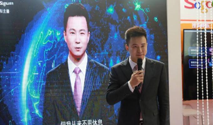 China: crean los primeros presentadores virtuales de noticias