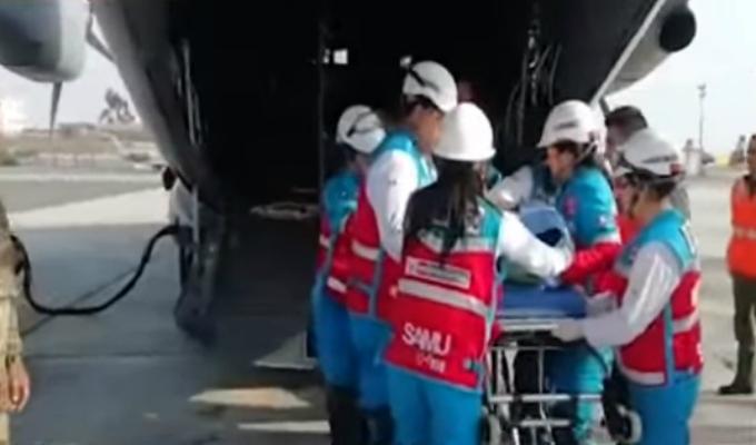 Dos sobrevivientes del accidente en Amazonas fueron trasladados a Lima