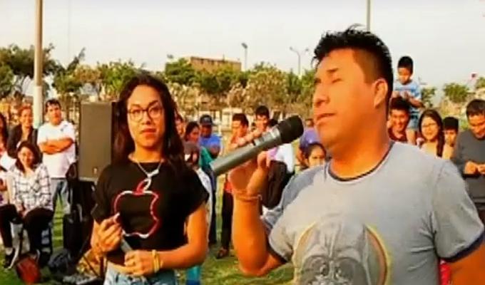 Dayanita, la primera cómico trans de la televisión peruana
