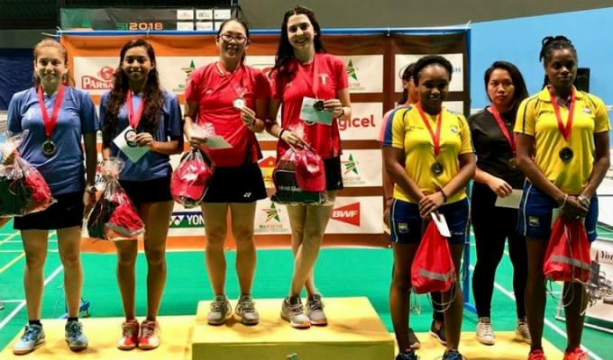 Bádmiton peruano logra medalla de Oro y Plata en Surinam