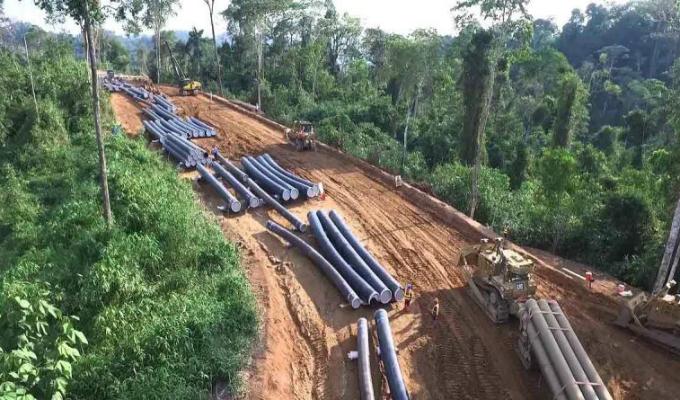 Gasoducto Sur: emblemática obra de Ollanta Humala está abandonada