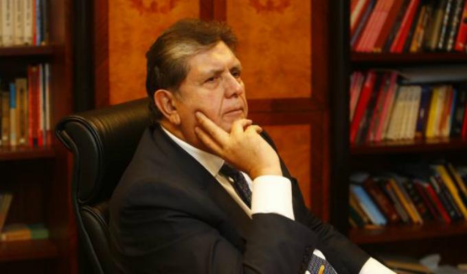 Cancillería uruguaya se pronunció sobre pedido de asilo de Alan García