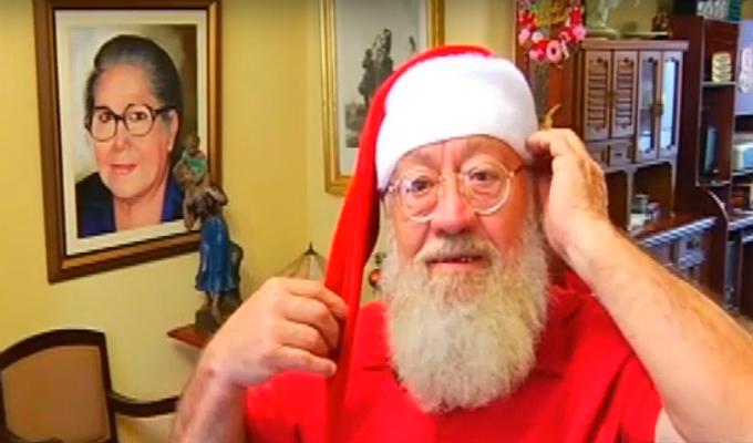 Esta es la historia del Papá Noel chalaco
