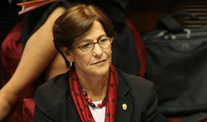 Fiscal Peña revela que información proveniente de Brasil sobre Susana Villarán se encuentra en la Fiscalía hace un mes