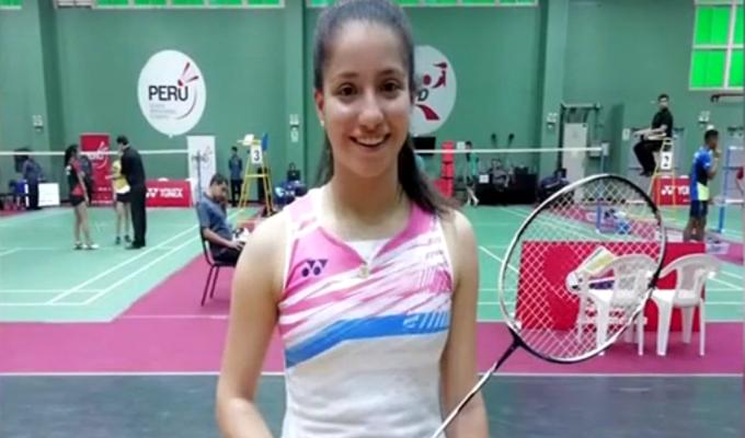 Fernanda Saponara: peruana ganó sudamericano sub19 de bádminton
