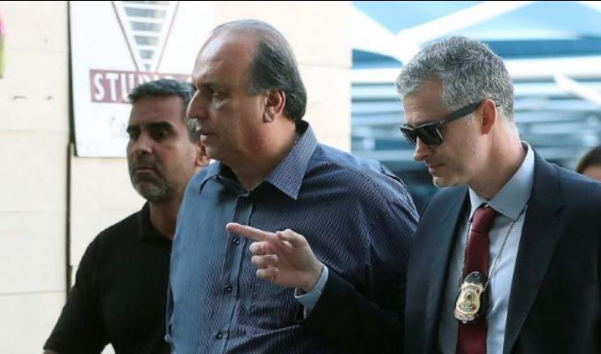 Brasil: arrestaron al gobernador de Río de Janeiro por presunta corrupción