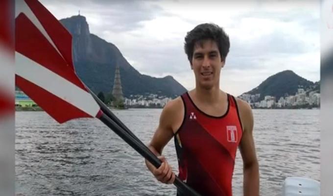 Gerónimo Hamann: deportista peruano clasificó a Lima 2019 en remo