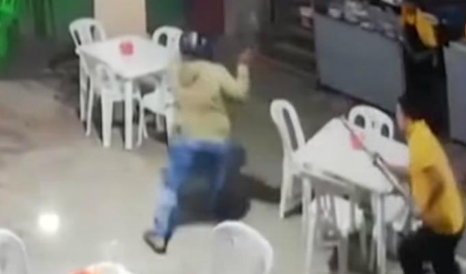 Trabajadores se enfrentan a delincuentes durante asalto en Piura