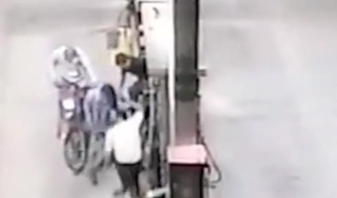 Pucallpa: delincuentes asaltan grifo y se llevan seis mil soles