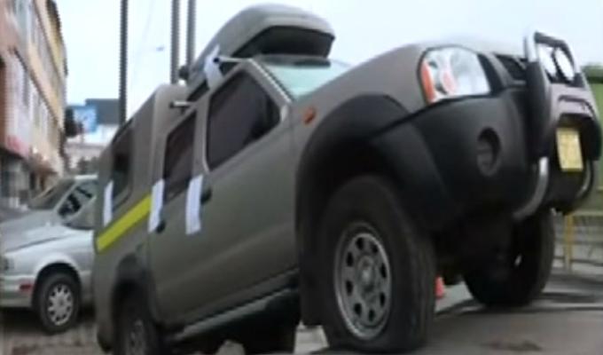 Miraflores: trasladan vehículo intervenido cerca a casa de Alan García