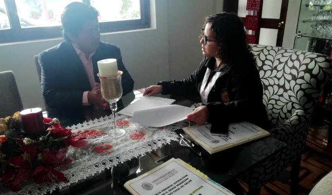 Edwin Oviedo: así fue su detención en su vivienda en San Borja