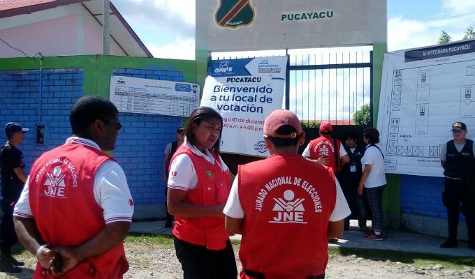 JNE despliega fiscalizadores por todo el país para supervisar jornada electoral