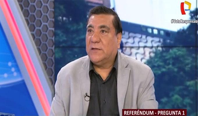 Referéndum: Víctor García analiza conformación de la Junta Nacional de Justicia