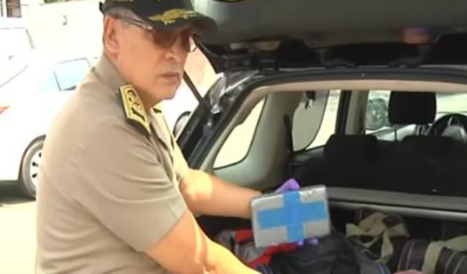 Miraflores: intervienen camionetas cargadas con 270 kilos de cocaína