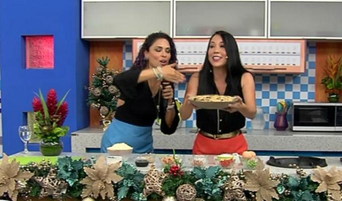 ¡Patty Wong estuvo en Combinado para preparar un exquisito chaufa navideño!