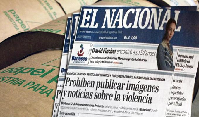 """Venezuela: diario """"El Nacional"""" crítico del gobierno de Maduro, suspende circulación impresa"""