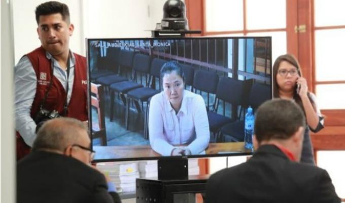 Keiko Fujimori: incidencias durante apelación a su prisión preventiva