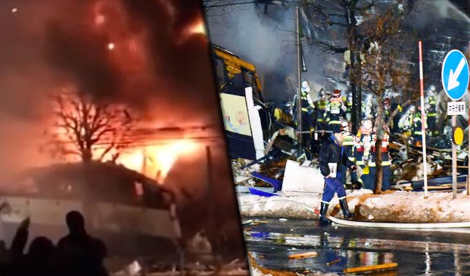 Japón: 42 personas heridas deja explosión en restaurante de Sapporo