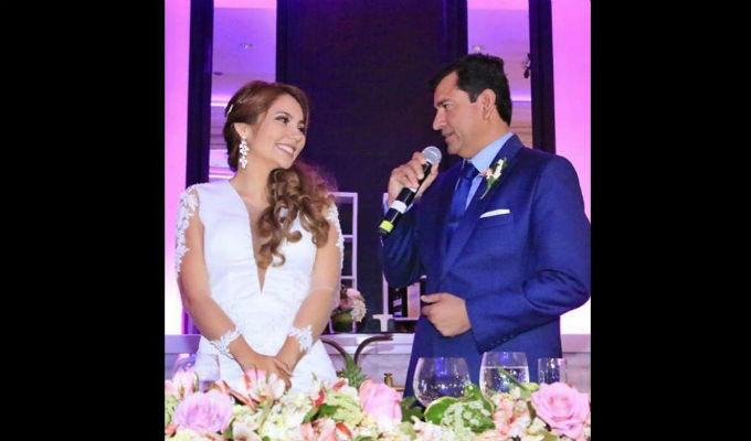 Piura: el congresista Luis López Vilela contrajo matrimonio con su exasistente