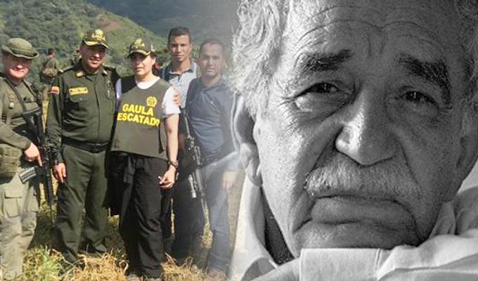 Colombia: rescatan a la sobrina de Gabriel García Márquez tras cuatro meses secuestrada