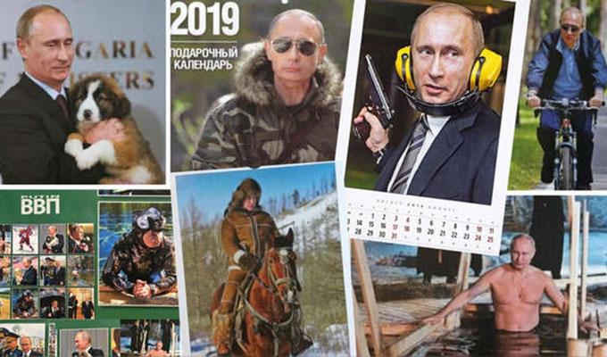 Japón: calendario 2019 del presidente Vladímir Putin bate récords de ventas