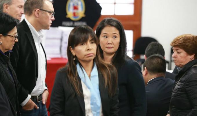 Giuliana Loza: sector de la política pretende perjudicar a Keiko Fujimori