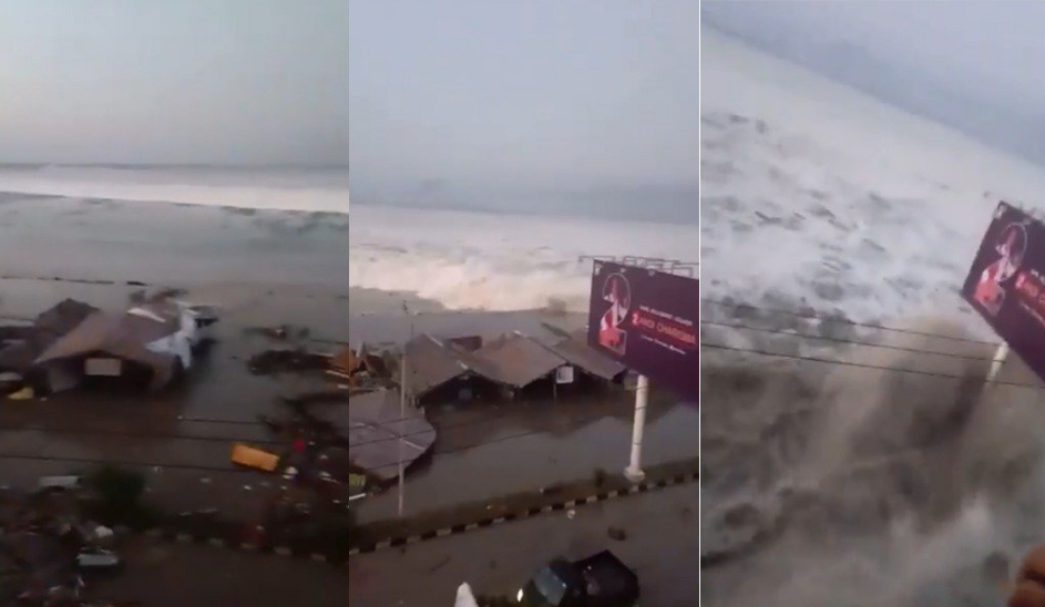 Tsunami se registra en Indonesia dejando al menos 20 muertos y más de 160 heridos