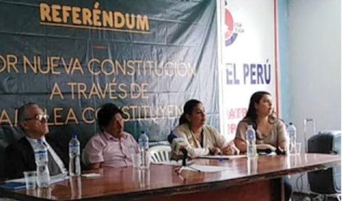 Denuncian que Sendero Luminoso busca firmas para impulsar nueva Constitución