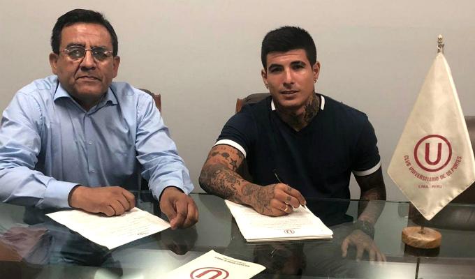 Universitario: Armando Alfageme es el nuevo jale 'crema' para la temporada 2019