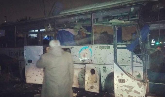 Egipto: atentado deja 2 muertos en autobus turístico en Giza